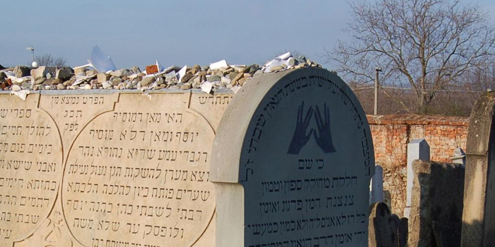 The grave of Rabbi Shakh at the Jewish cemetery. – © Vratislav Brázdil