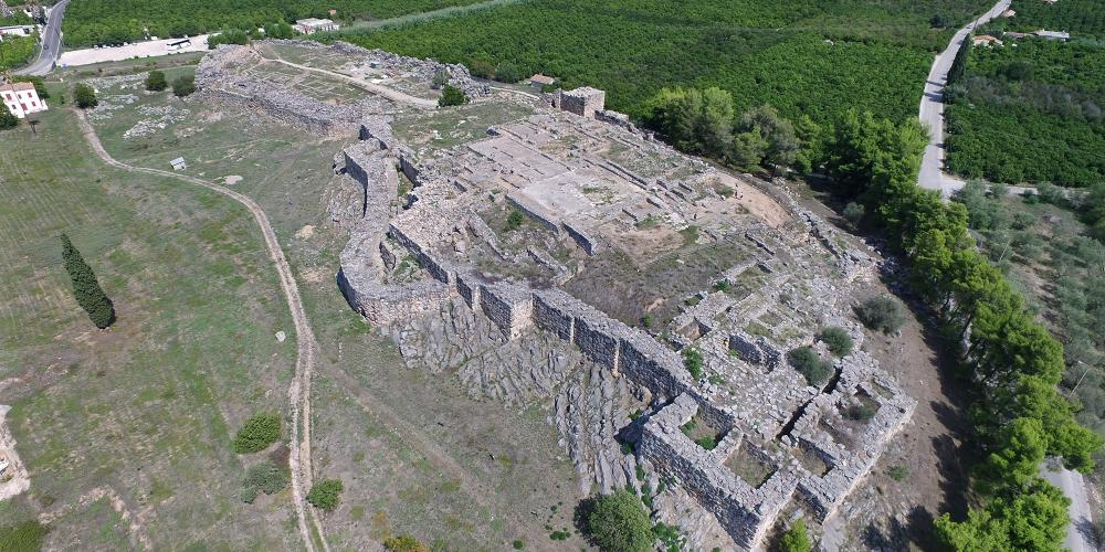 The Mycenaean acropolisofTiryns, due to its excellent state of preservation, is a very fine example of Mycenaean palatial architecture and fortification. – © Hellenic Ministry of Culture and Sports / Ephorate of Antiquities of Argolida