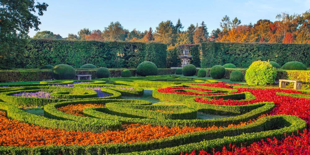 The Flower Garden World Heritage Journeys Of Europe