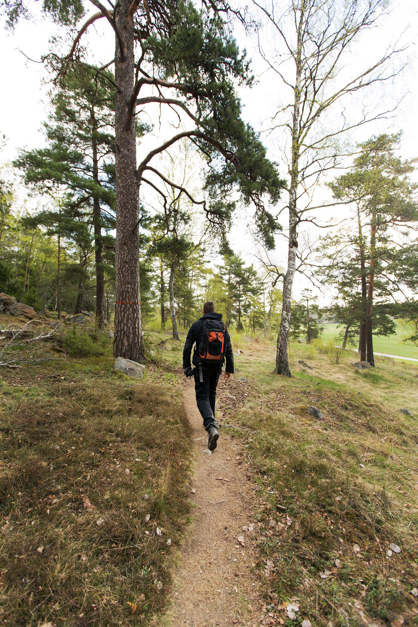 Hiking in Lovö Nature Reserve is a true bliss for the soul. The nature reserve consists of forests, meadows and arable land. – © Melker Dahlstrand