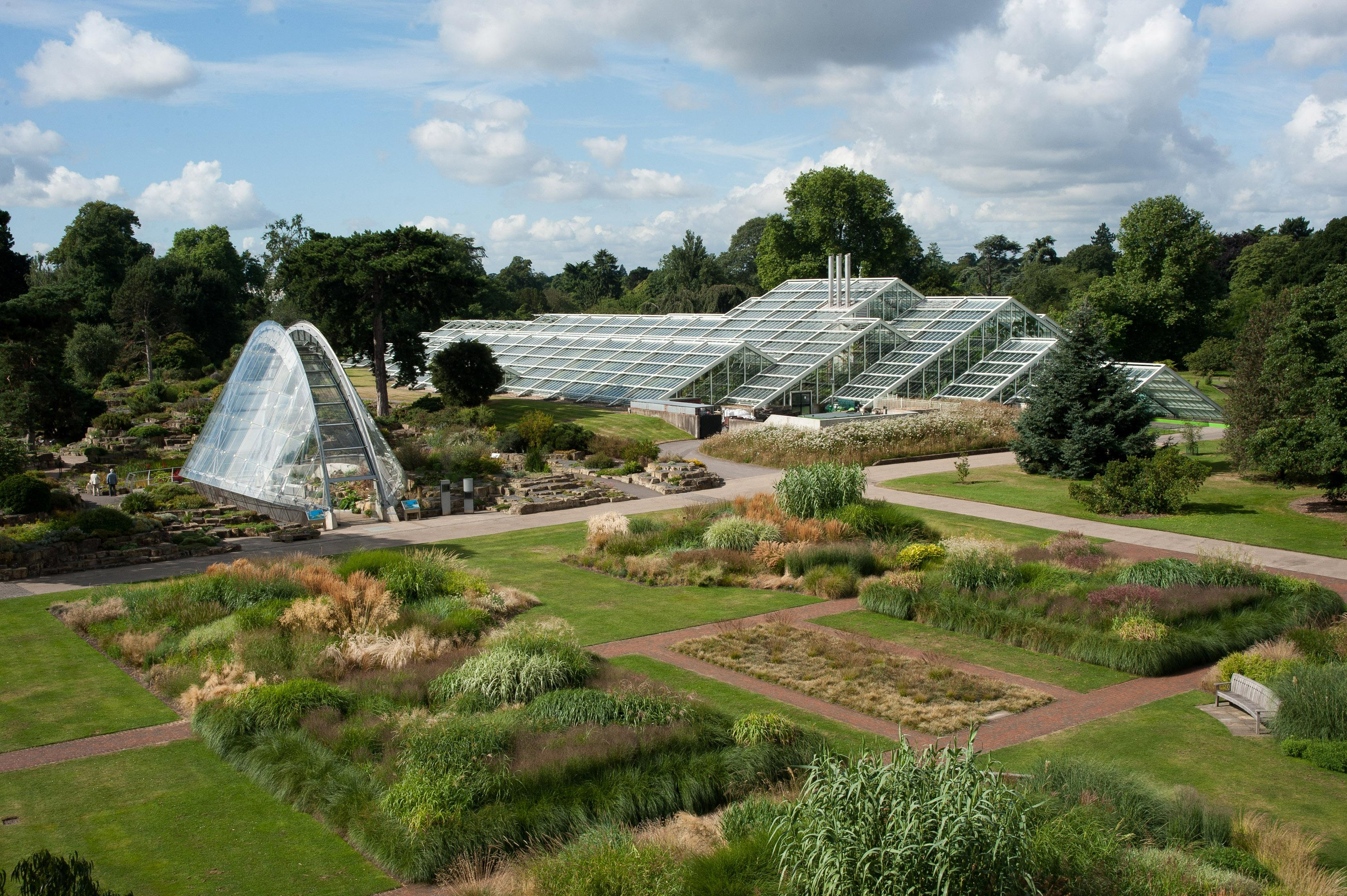 The Princess of Wales Conservatory allows visitors to experience ten of the world's climatic zones under one roof. - © RBG Kew