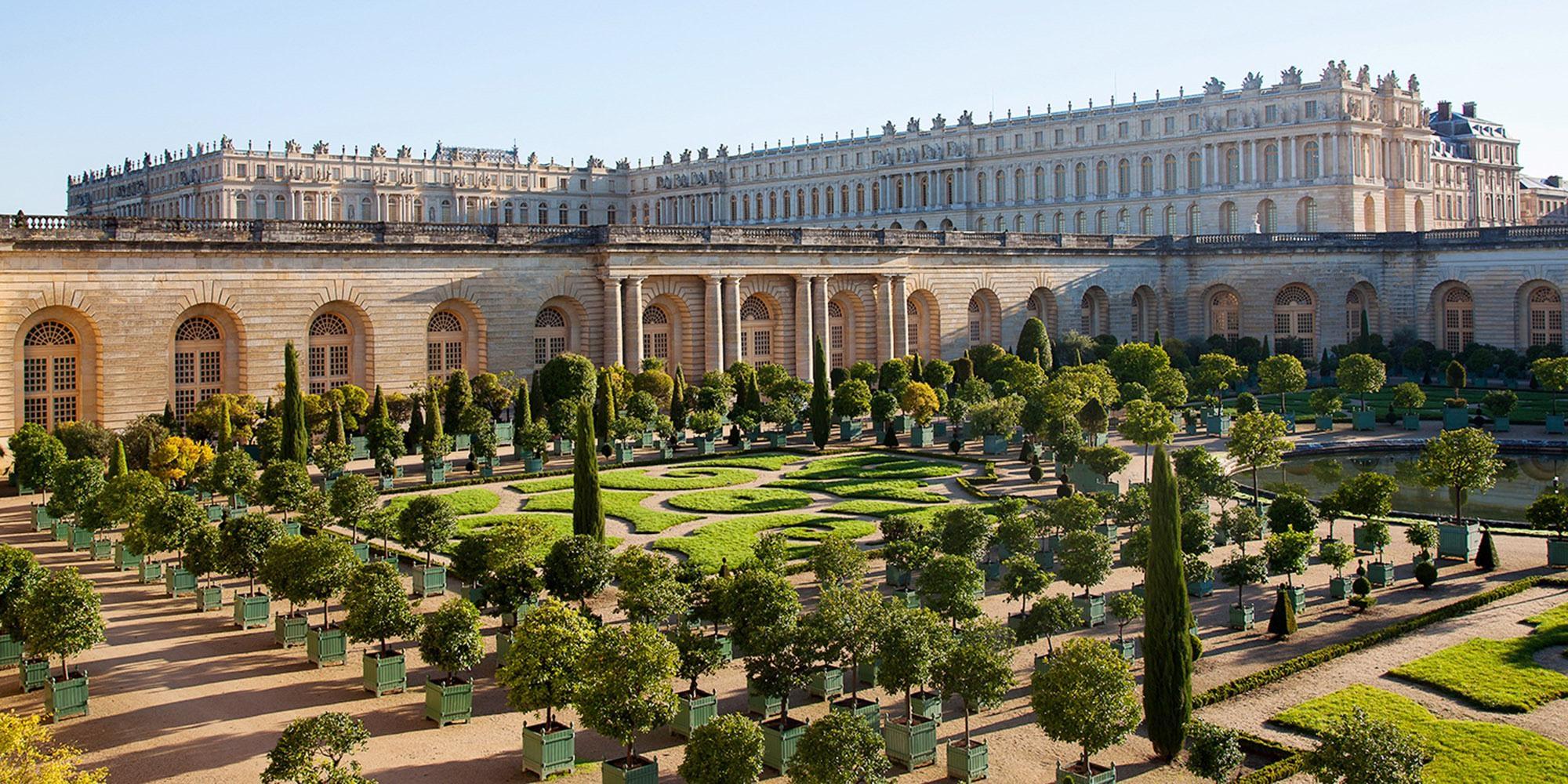 Versailles Orangery Garden
