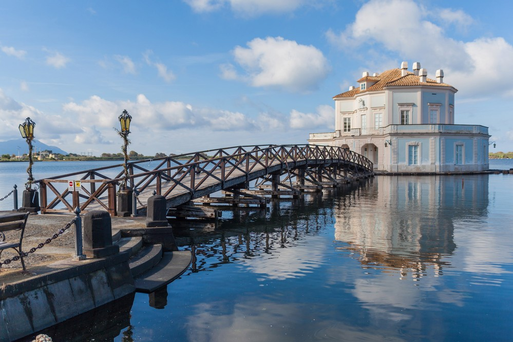 """Casina Vanvitelliana in Bacoli, Naples is known by locals as """"Pinocchio's house."""" – © DinoPh / Shutterstock"""