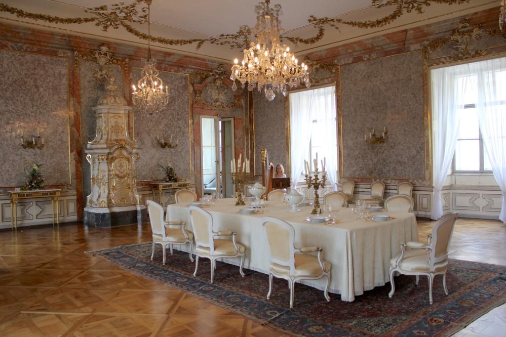 The Dining room is the largest and most splendid hall at Valtice Castle. – © Lenka Beránková