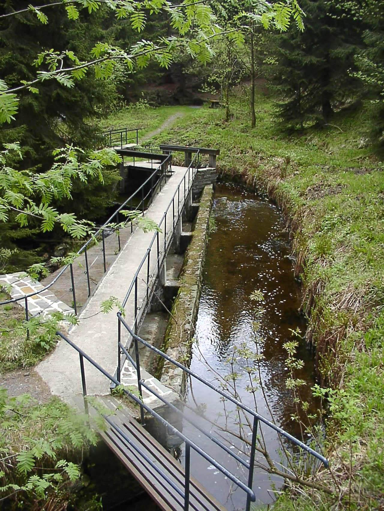 The mining operations were powered by a vast hydrologic engineering system throughout the landscape – © Harzwasserwerke GmbH