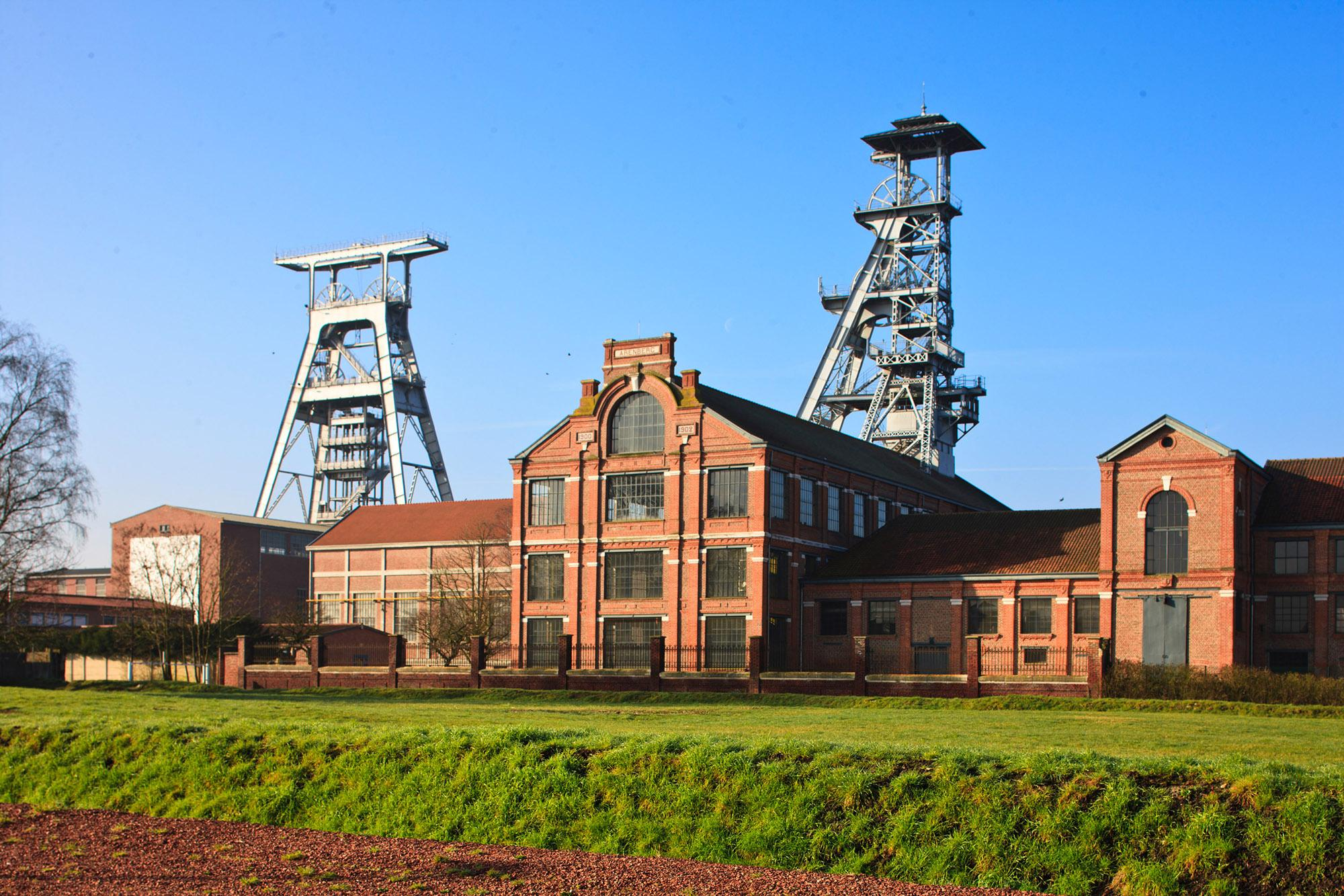 Opened in 1900 by the Anzin Mining Company, the Arenberg Pit in Wallers is a monument to the importance of mining at the dawn of the industrial age. – © Hubert Bouvet / Région Hauts-de-France