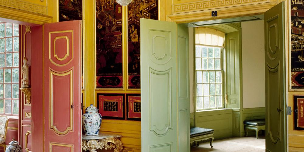The Red Room and the Yellow Room are closely inspired by the drawings published by architect William Chambers. – © The Royal Court