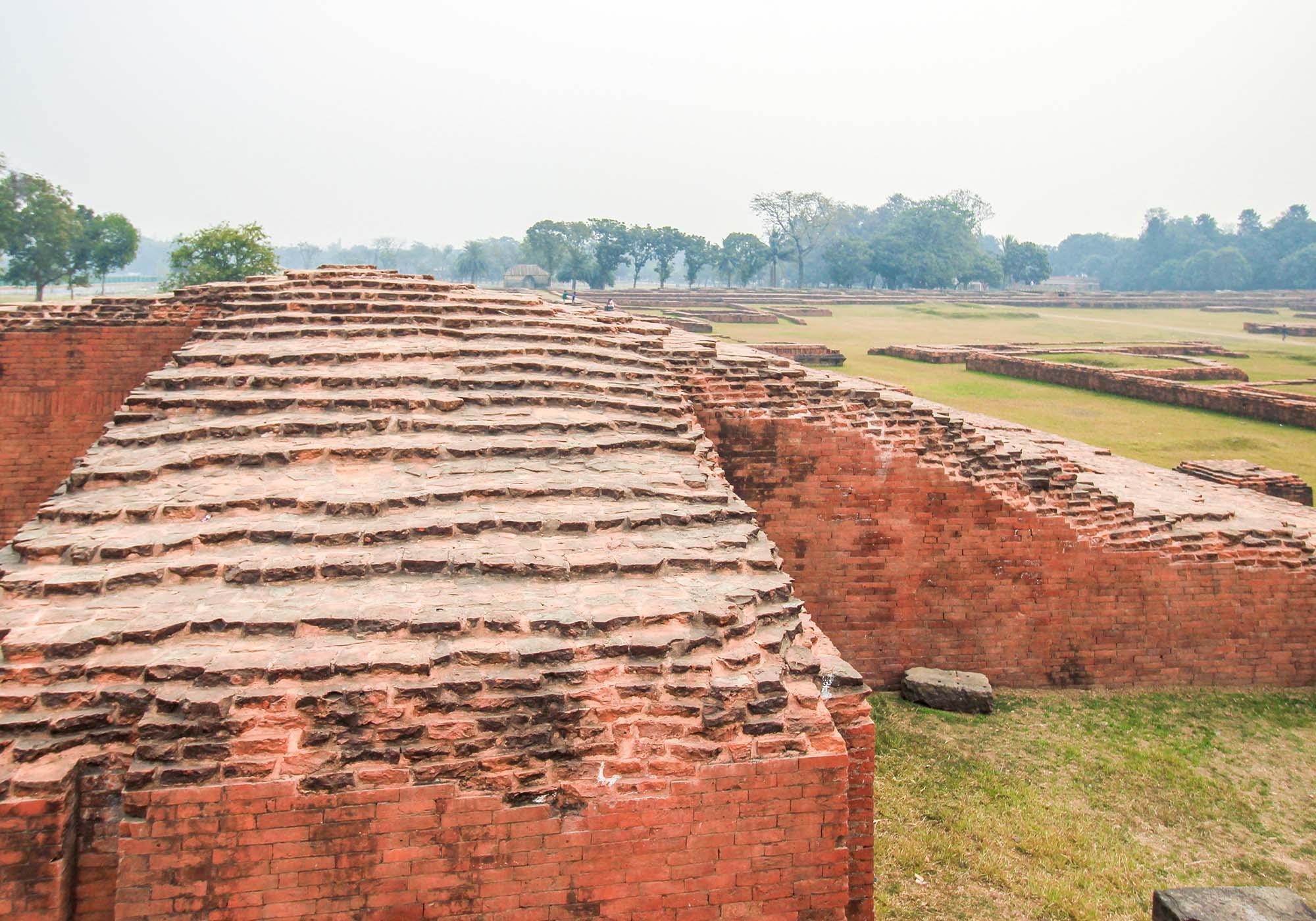 Ruins of north entry gate of Somapura Mahavihara - © Julfiker Ahmed