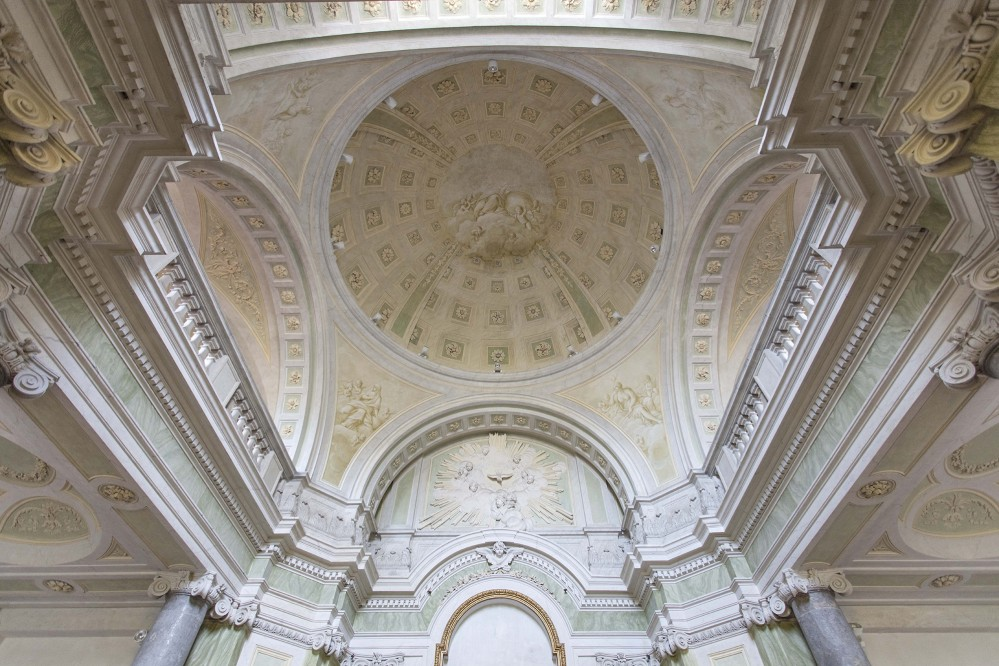 Interior view of the Carditello Royal Sites' Chapel. – © Amedeo Benestante