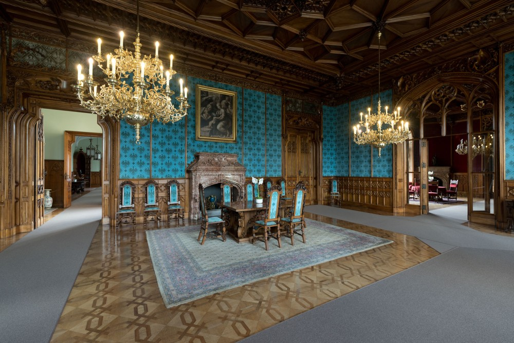 Visitors are drawn to the Lednice Castle's popular guided tours, which are divided into four different circuits. They help travellers discover the spectacularly renovated interiors. – © František Sysel