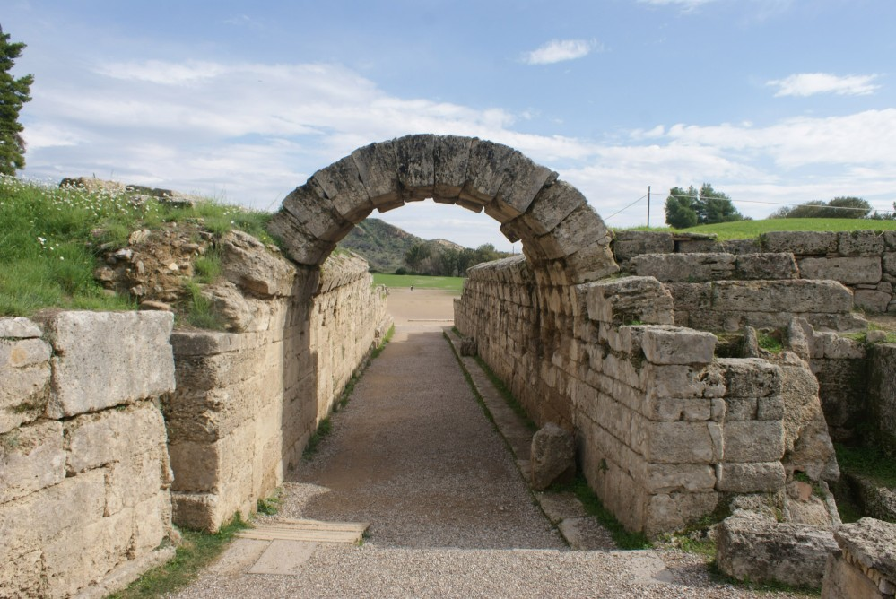 Krypte Stoa is the vaulted, 32-metres long tunnel that connects the Stadium with the sacred Altis of Olympia – © Hellenic Ministry of Culture and Sports / Ephorate of Antiquities of Ilia