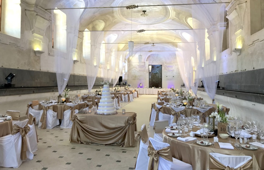 Spanish Stables at Valtice Castle offers great space for weddings up to 120 guests. – © Lenka Beránková