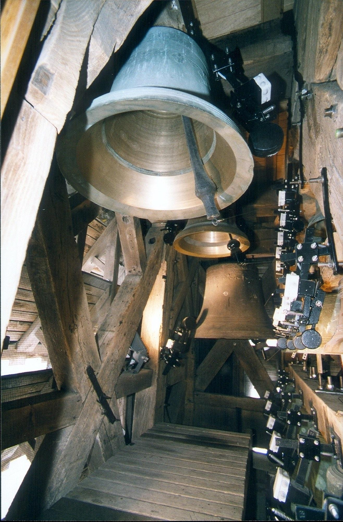 The carillon is made of 55 bells. Any kind of music can be played on it. – © Ville Tournai