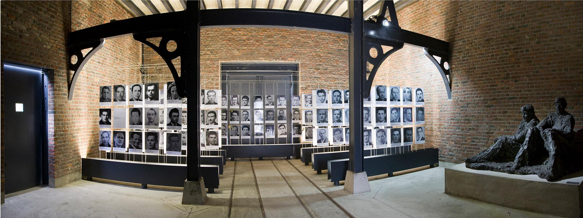 The memorial dedicated to the 262 victims of the Bois du Cazier catastrophe makes the industrial revolution more human for visitors. – © Ville de Charleroi