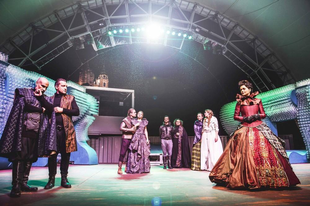 La Wachau propose des événements culturels et artistiques de haute qualité tout au long de l'année - comme le Théatre d'été à Melk. – © Daniela Matejschek / Wachau Kultur Melk