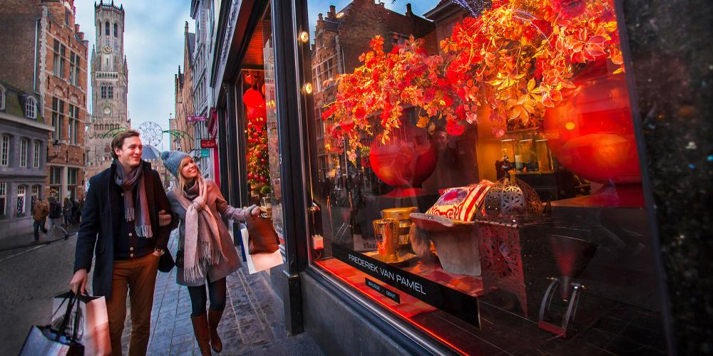 Shopping in Bruges rivals any cultural centre in Europe. – © Jan D'Hondt / VisitBruges