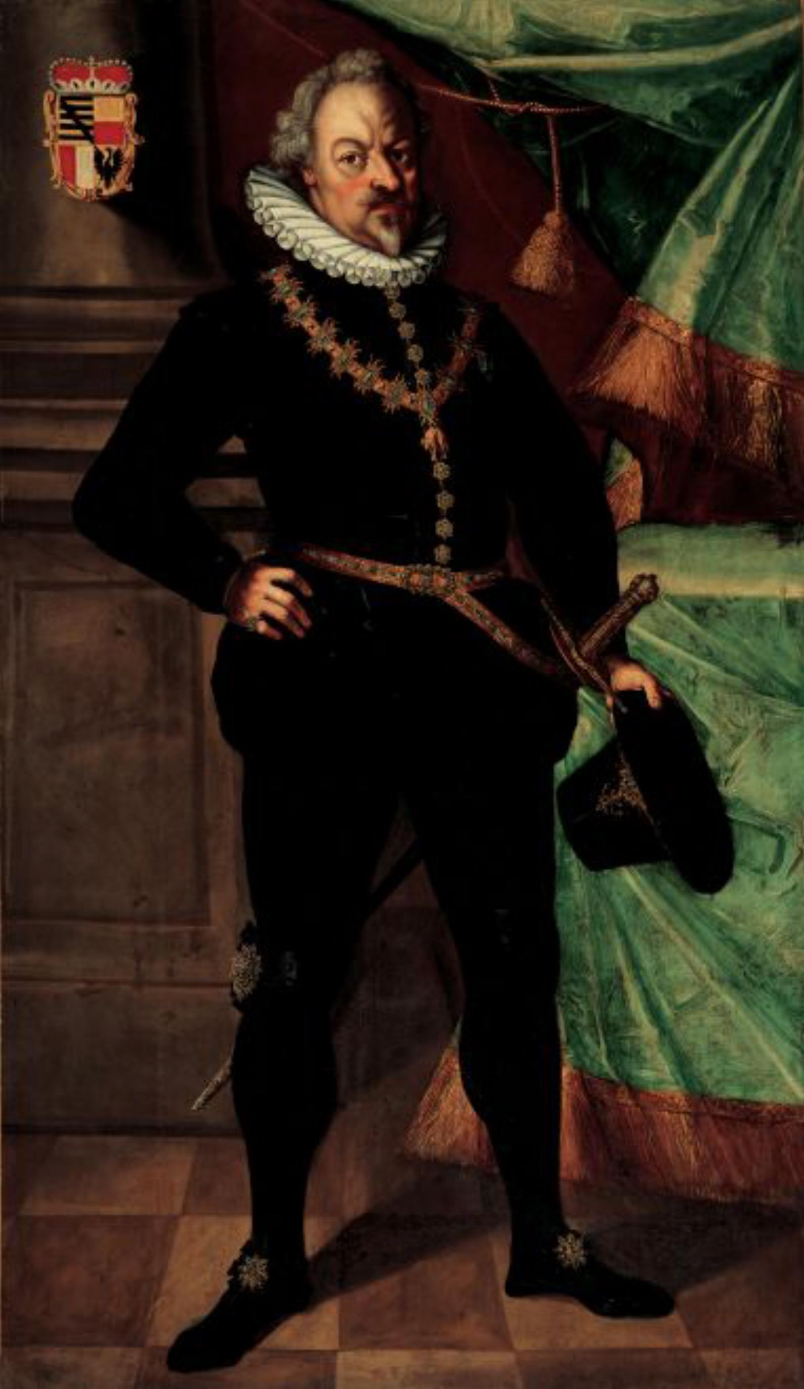Karl I, Prince of Liechtenstein (30 July 1569 – 12 February 1627), was the first member of the Liechtenstein family to become a Prince of Liechtenstein.