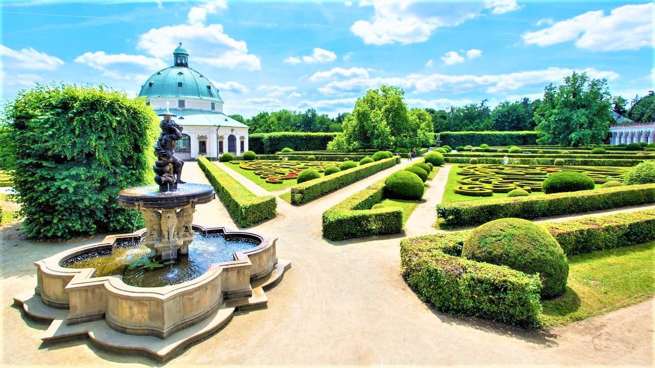 The Garden was founded by the Bishop of Olomouc Karl von Lichtenstein-Castelcorno in the second half of the 17th century. - © Tomáš Vrtal