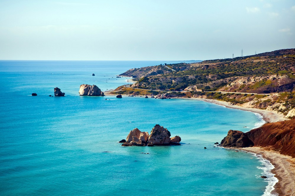 Aphrodite's legendary birthplace in Pafos, Cyprus. – © Alexander Tolstykh / Shutterstock