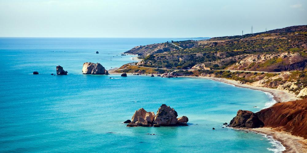 Lieu de naissance légendaire d'Aphrodite à Paphos, Chypre – © Alexander Tolstykh / Shutterstock