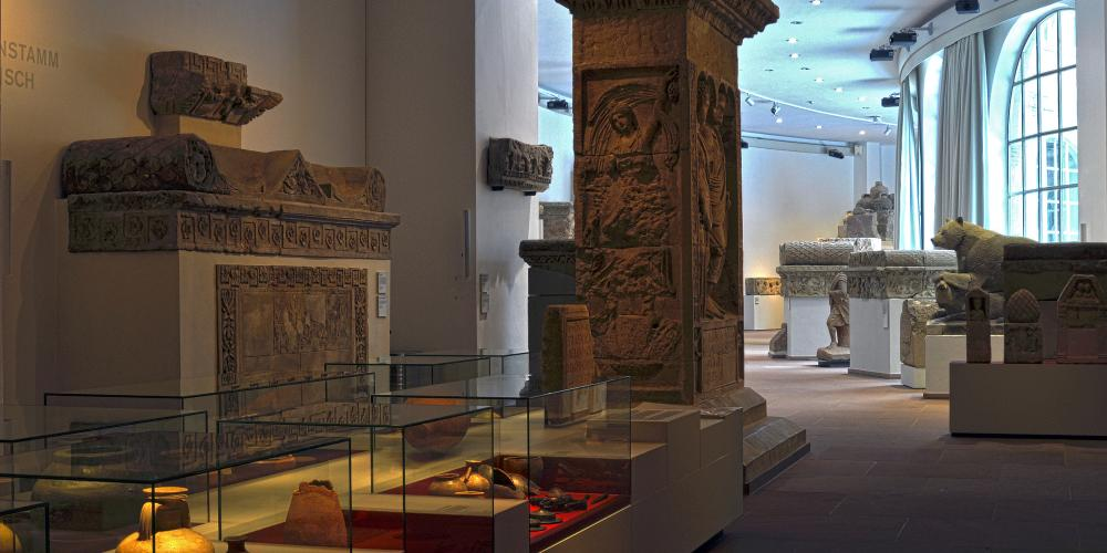 Trier's Rheinische Landesmuseum is one of the most important archaeological museums in Germany, with a collection that covers prehistory through the Roman period, the Middle Ages to the Baroque. – © Thomas Zühmer