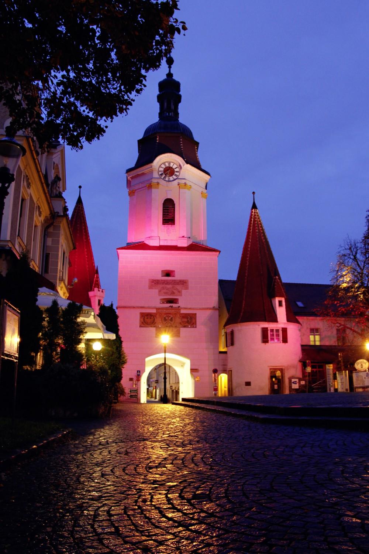La ville historique de Krems, qui est la plus grande ville ce site, joue le rôle de modèle exemplaire pour la protection des monuments depuis les années 1970. – © Stadt Krems