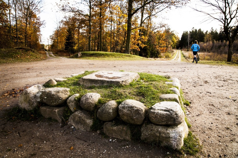 King Christian V placed these stone monuments to clearly define the hunting landscape of the Great Deer Park. – © Sune Magyar / Parforcejagtlandskabet i Nordsjælland