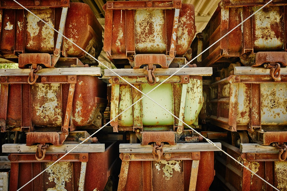 La collection du site du patrimoine mondial de Rammelsberg, y compris ces wagons à charbon, est un puits de connaissances sur l'extraction minière. – © Stefan Sobotta