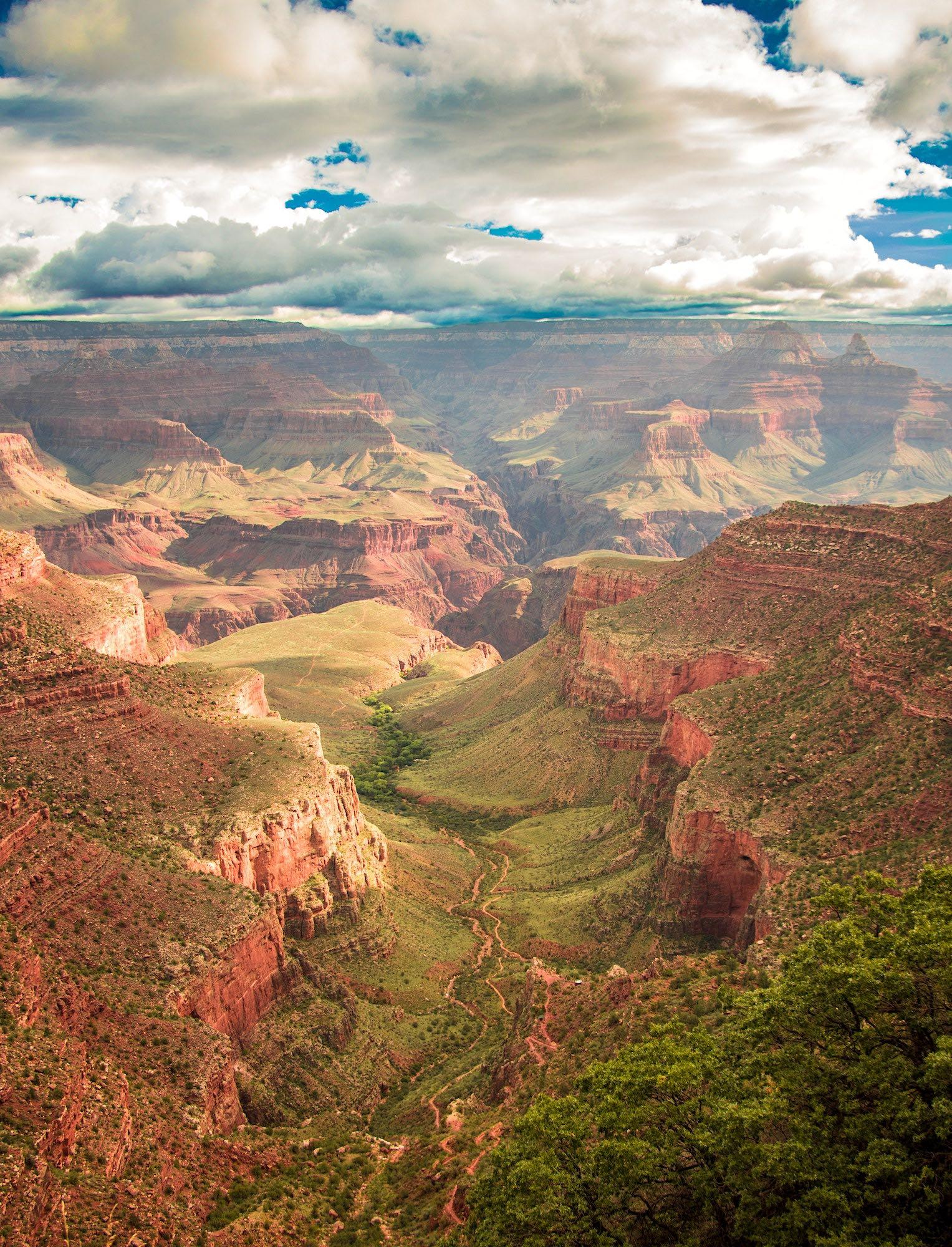 A natural World Heritage site, the Grand Canyon in Arizona, USA is considered one of the finest examples of arid-land erosion in the world. - © Lukas Kloeppel