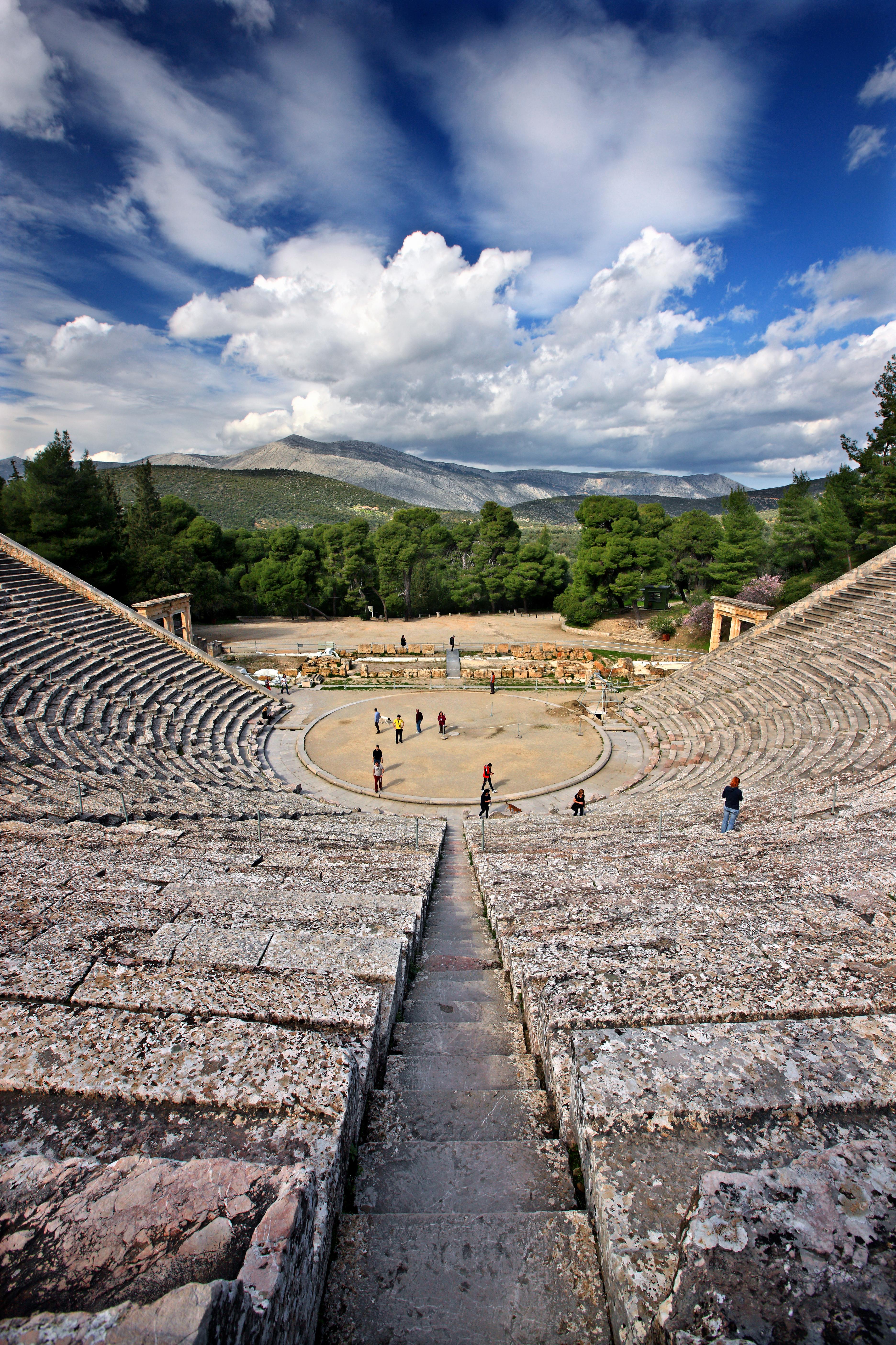Epidaure est souvent considéré comme le berceau de la médecine moderne. Il s'agissait à l'origine d'un sanctuaire dédié au dieu de la médecine, Asclépios. © HERACLES KRITIKOS / Shutterstock