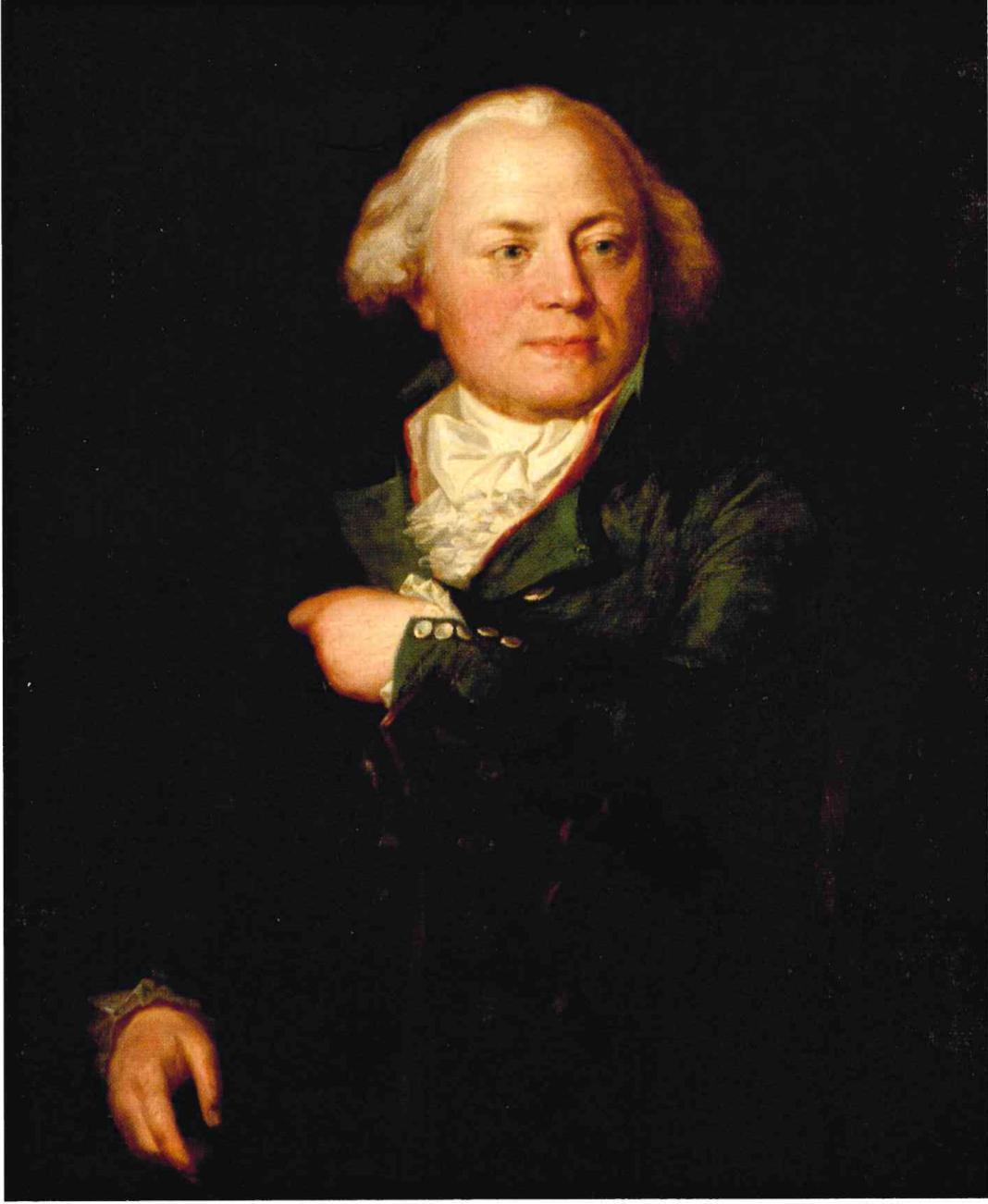 Portrait of Franz Bauer (1758-1840) from 1795, anonymous portrait. – © Hans Walter Lack - The Bauers