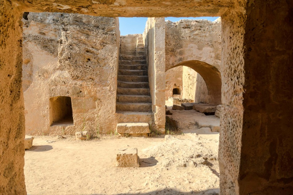 Archaeological research still takes place at the Tombs of the Kings, the burial place for aristocrats. – © Michael Turtle
