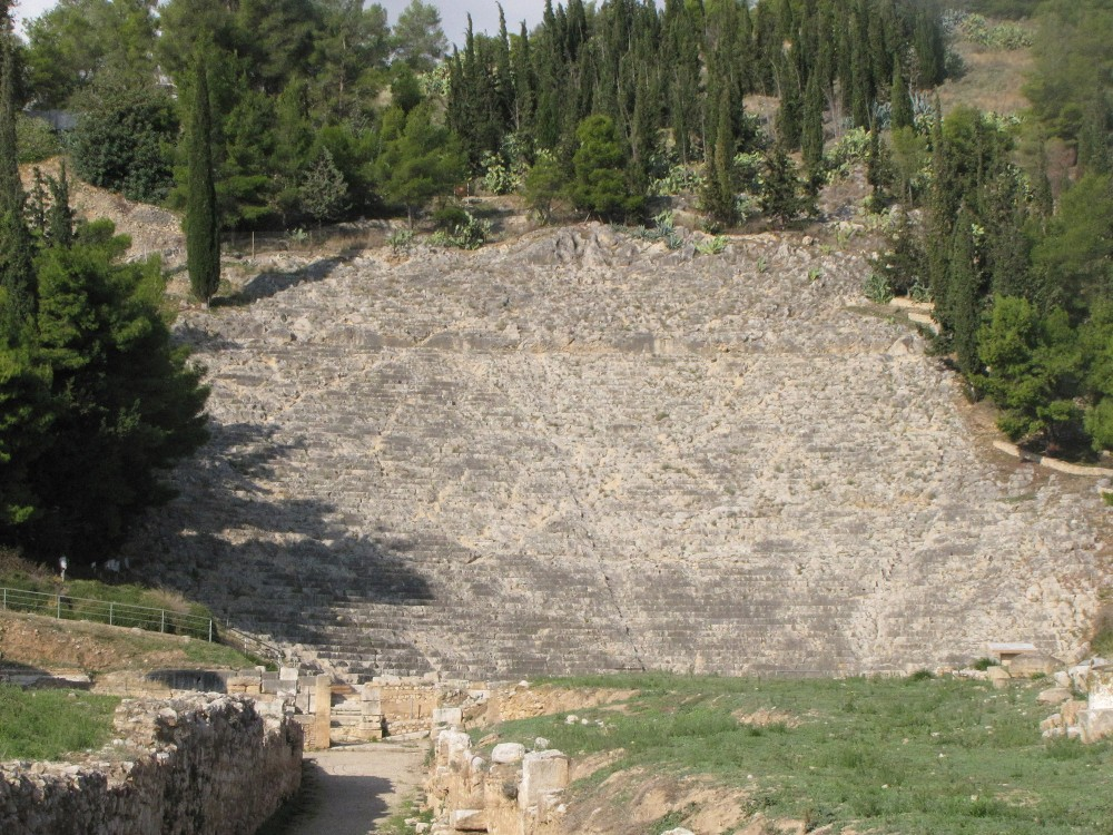 With a capacity of 20,000 seats approximately, the ancient theater of Argos counts among the largest ancient theatres in Greece. – © Hellenic Ministry of Culture and Sports / Ephorate of Antiquities of Argolida