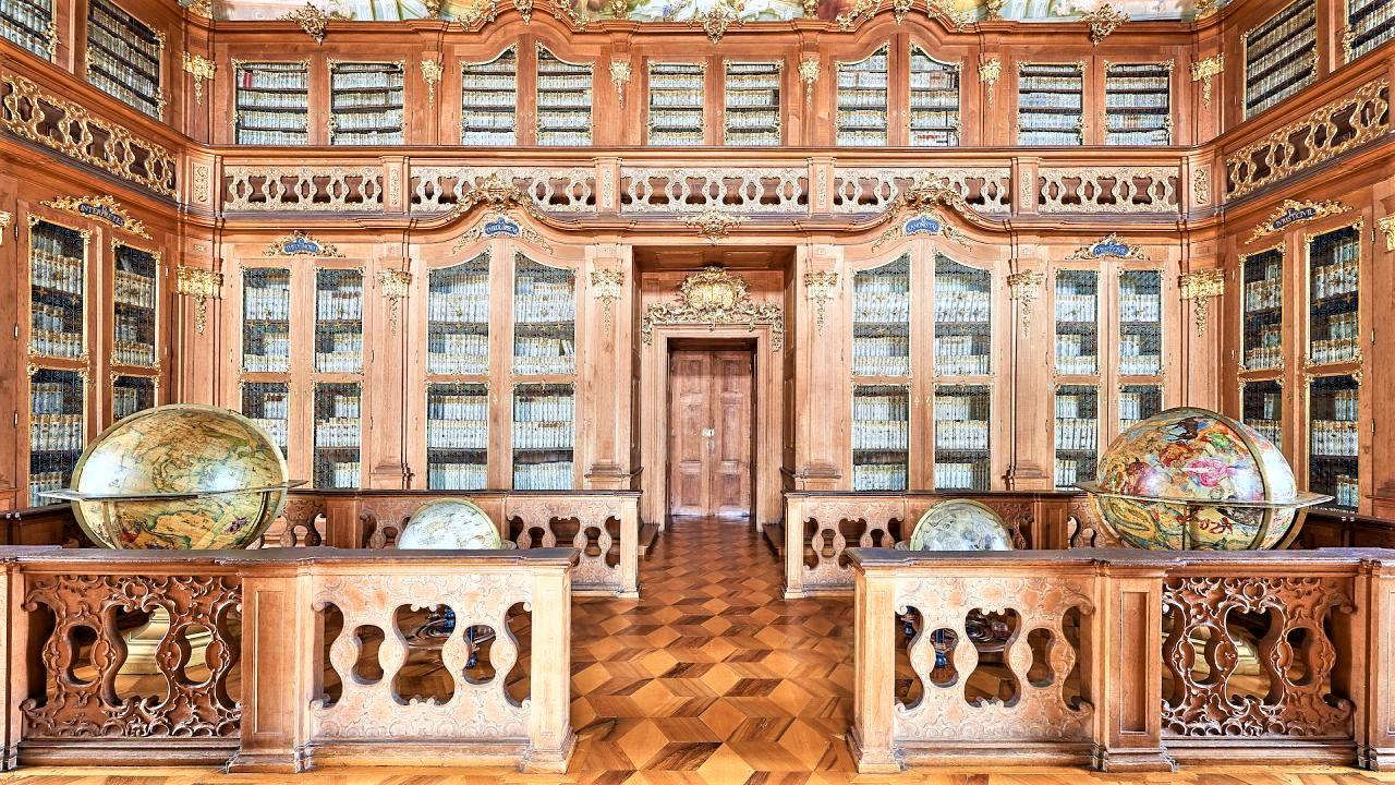 The Old Library belongs to the gratest libraries in the Czech Republic and is accessible to the public. - © Tomas Vrtal