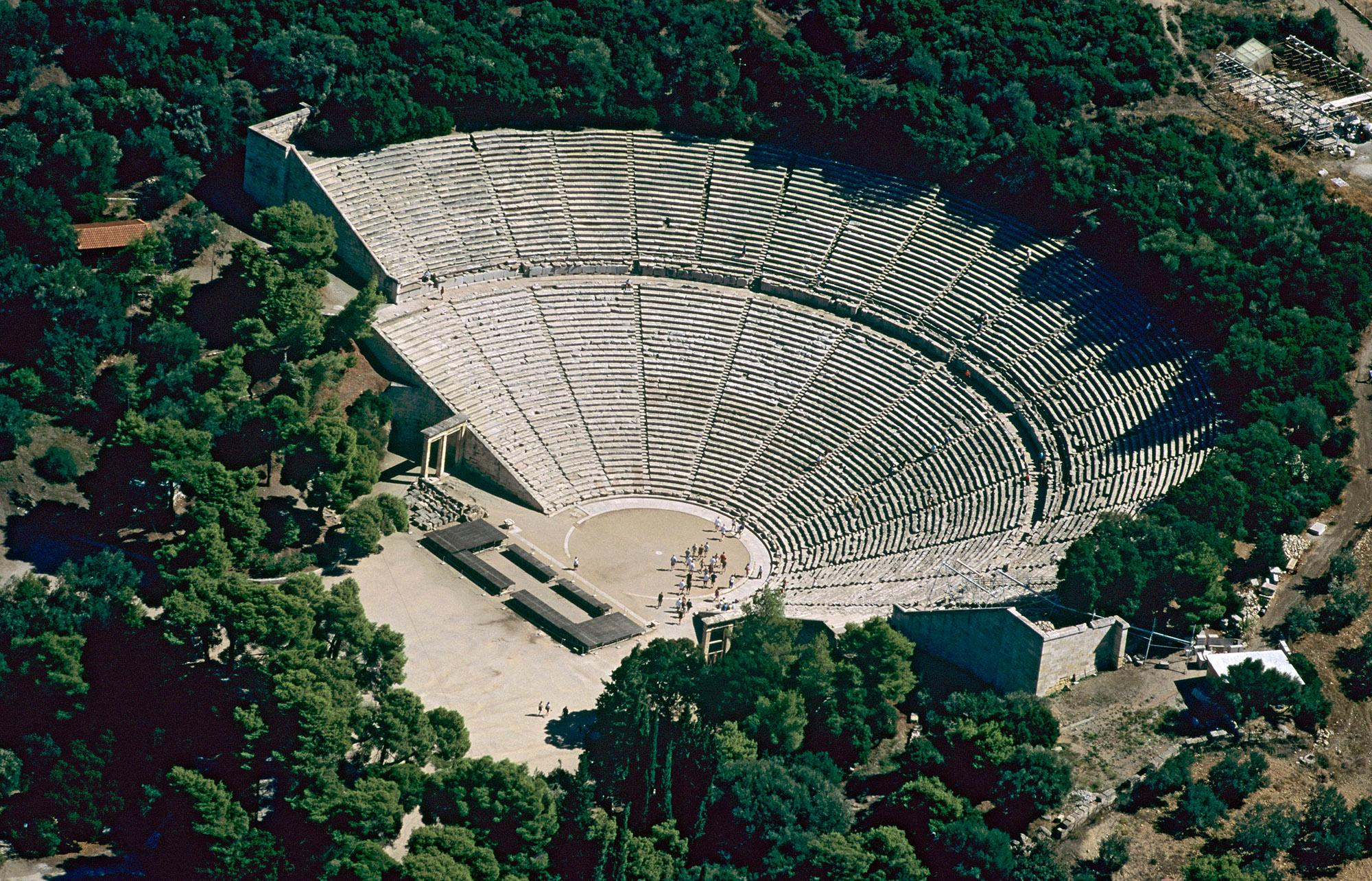The Theatre of Epidaurus – © K. Vergas /Hellenic Ministry of Culture and Sports