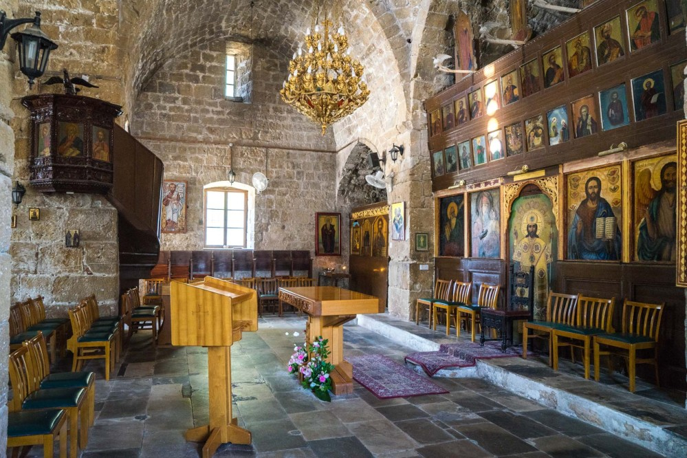 Ayia Kyriaki Chrysopolitissa Anglican church. – © Michael Turtle