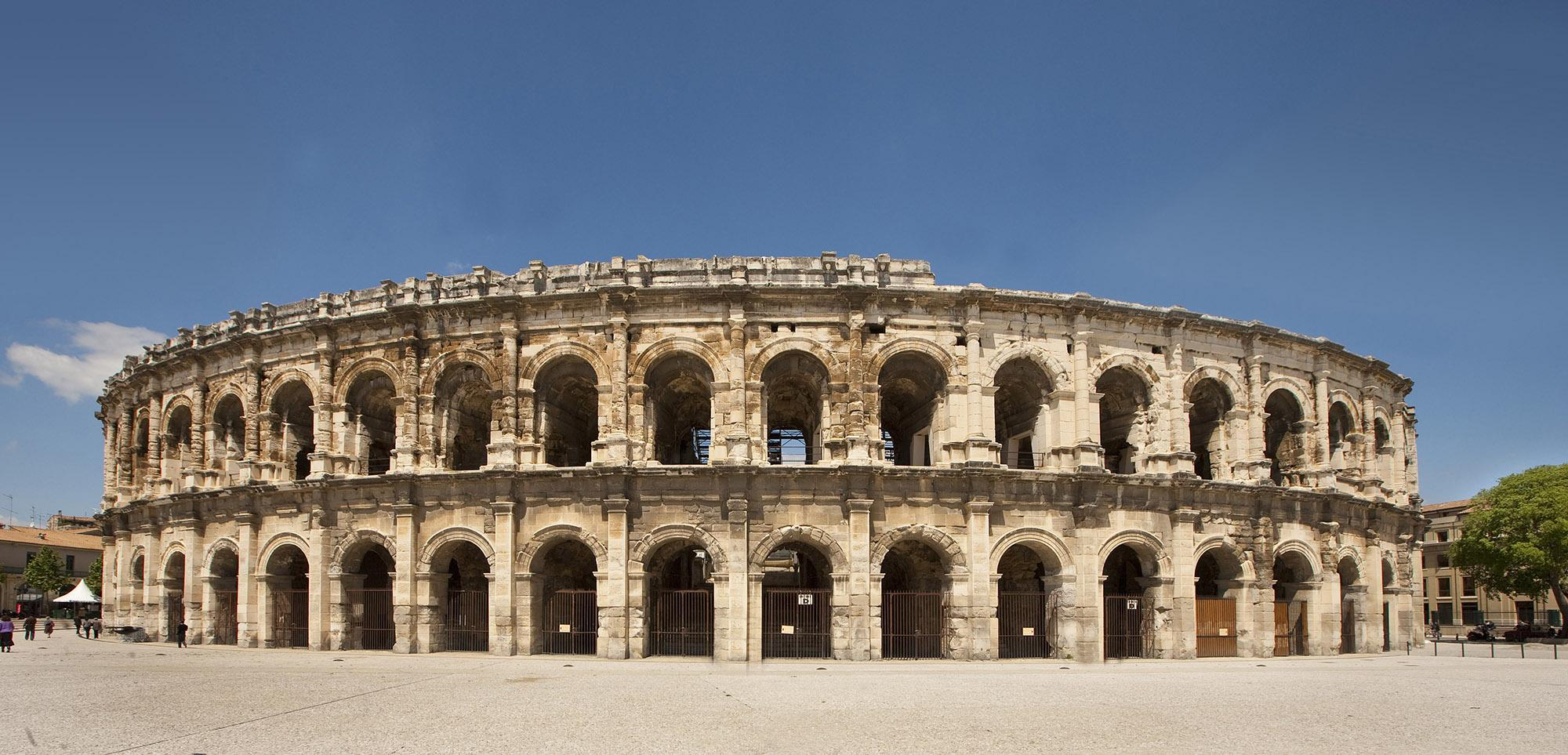 The roman arenas of Nîmes. – © O. Maynard / Office Tourisme Nîmes