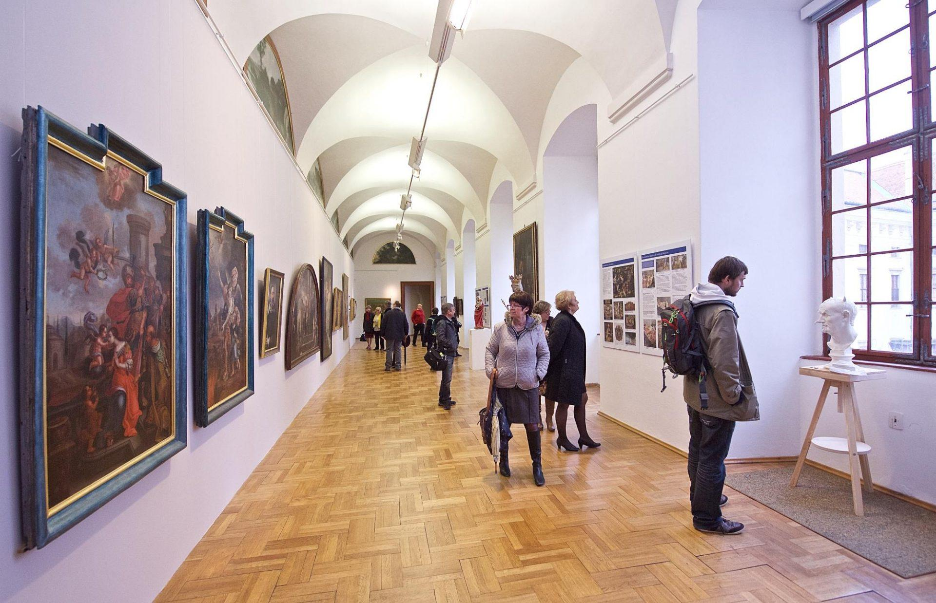 The gallery consists of nine halls, each representing a different art style. Therefore, plan to stay there at least 45 minutes or more. You can also visit the gallery at morning, go to a lunch then and came back during all the day. -  © The Archive of the Castle of Kroměříž