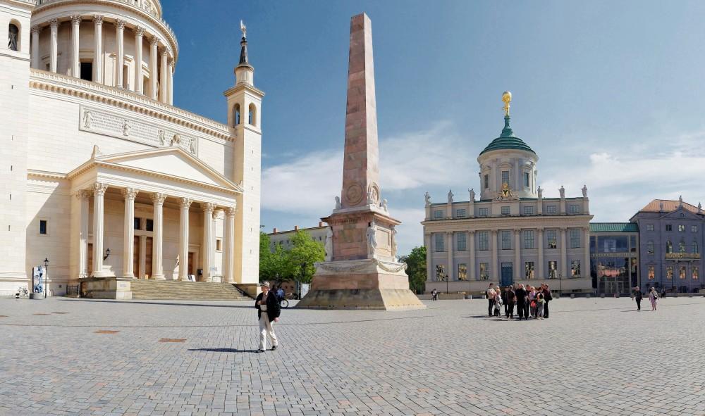 New splendour: the Old Market in the historical city centre. – © A. Stiebitz / PMSG