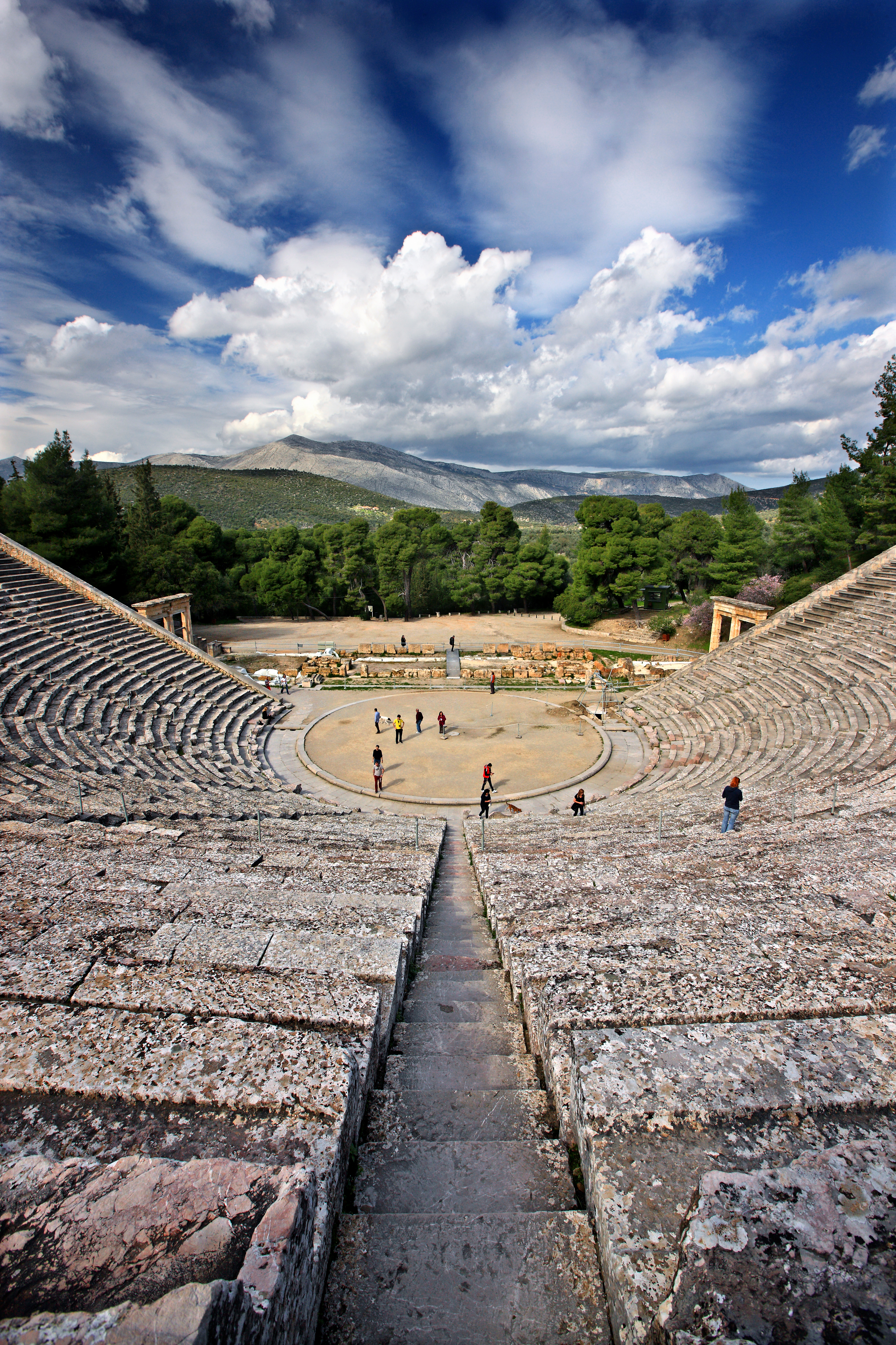 Epidauros is often considered the cradle of modern medicine. It was originally a sanctuary dedicated to the god of medicine, Asclepios. HERACLES KRITIKOS / Shutterstock