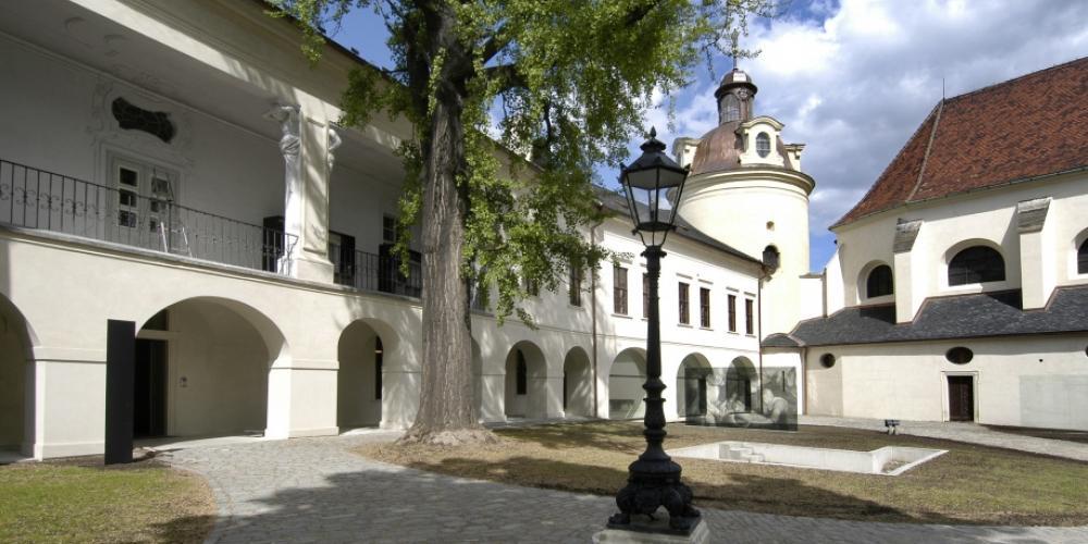 Courtyard of the Archdiocesan Museum – © Milena Valušková