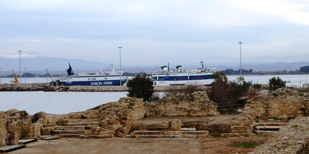 The port of Kyllene was the doorstep to the Olympic land of Elis and the Principality of Morea. – © Hellenic Ministry of Culture and Sports / Ephorate of Antiquities of Ilia