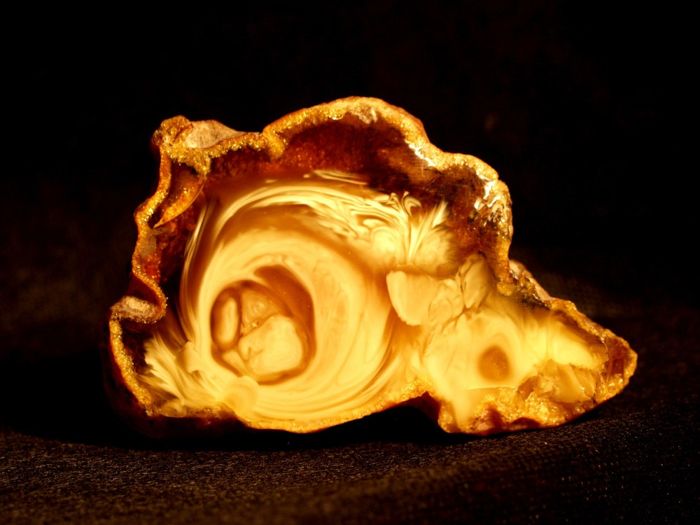 Amber is always different and always surprising in both colour and form. – © Mizgiriai Gallery, Vilnius