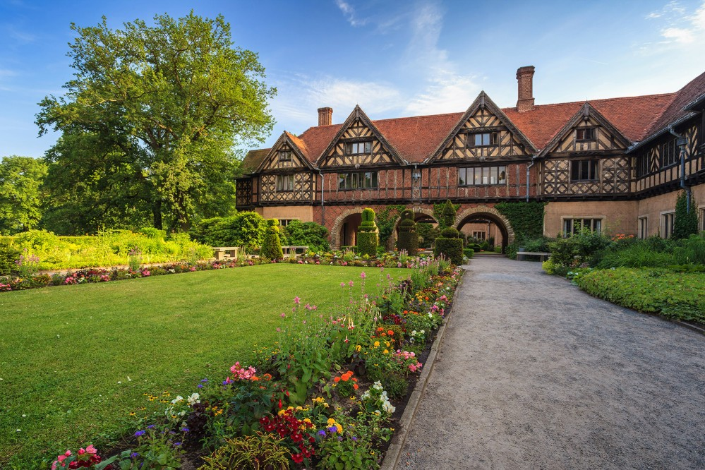 The last Hohenzollern building to be constructed in Potsdam, Cecilienhof Palace was built in 1913-17 in the style of an English country manor for Prussia's Crown Prince William and his wife Cecilie. – ©  Noppasin Wongchum / Shutterstock