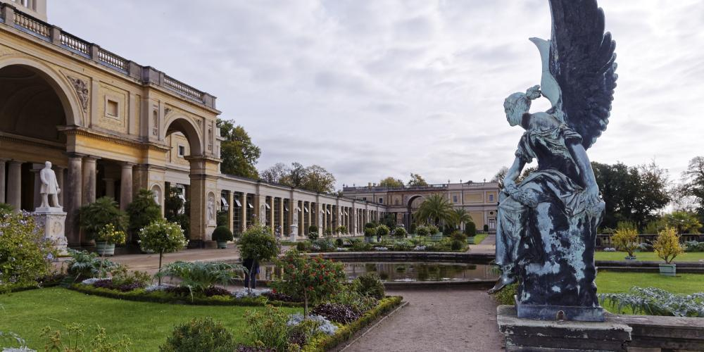 The Orangery Palace was the last and largest palace building constructed in Sanssouci Park. – © A. Stiebitz / SPSG