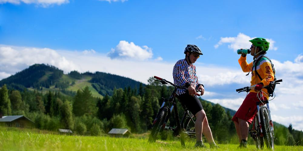 There are 71 cross country trails in total throughout Dalarna. – © Daniel Ronnback