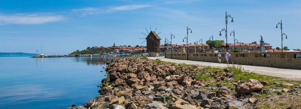 Faire le tour de la vieille ville de Nessebar le long du chemin suivant son périmètre ne prend que 30 minutes. – © Nessebar Municipality