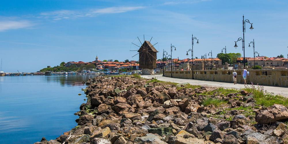 It takes just 30 minutes to walk around the path of the perimeter of Nessebar's Old Town. – © Nessebar Municipality
