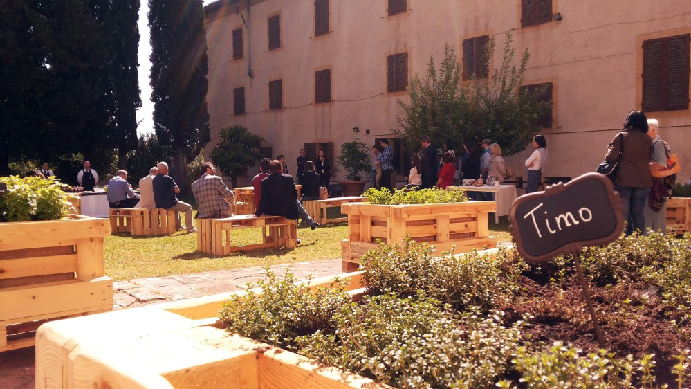 The garden in Spezieria is still in use today to grow plants used for remedies. – © Musei Civici di San Gimignano