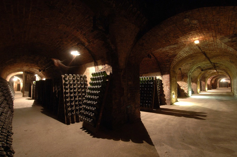 Visitors come from around the world to see the famous Caves of the Avenue de Champagne. – © Michel Jolyot